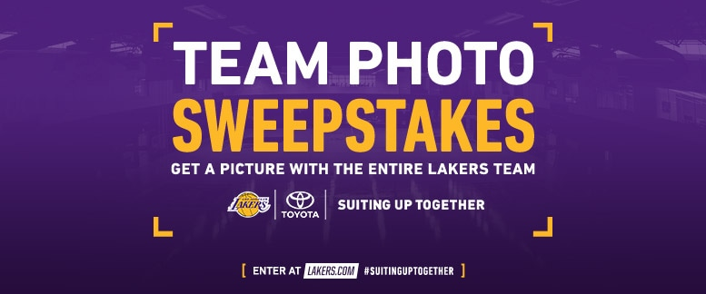 Team Picture Sweepstakes Presented by Toyota