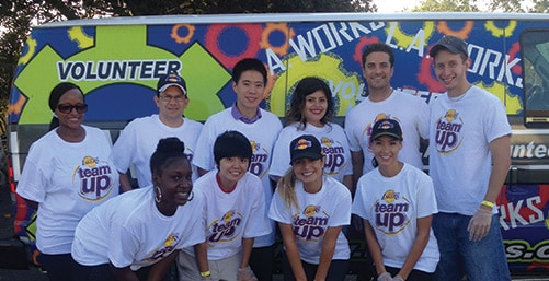 Lakers Team Up at LA Works Day 2014