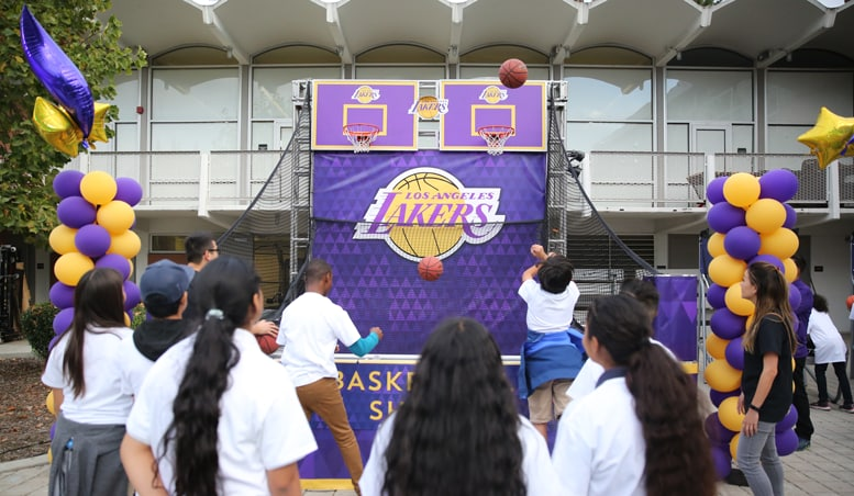 Lakers 2017 Season of Giving