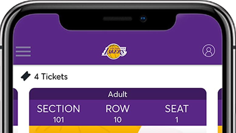 Lakers Mobile Ticket Entry