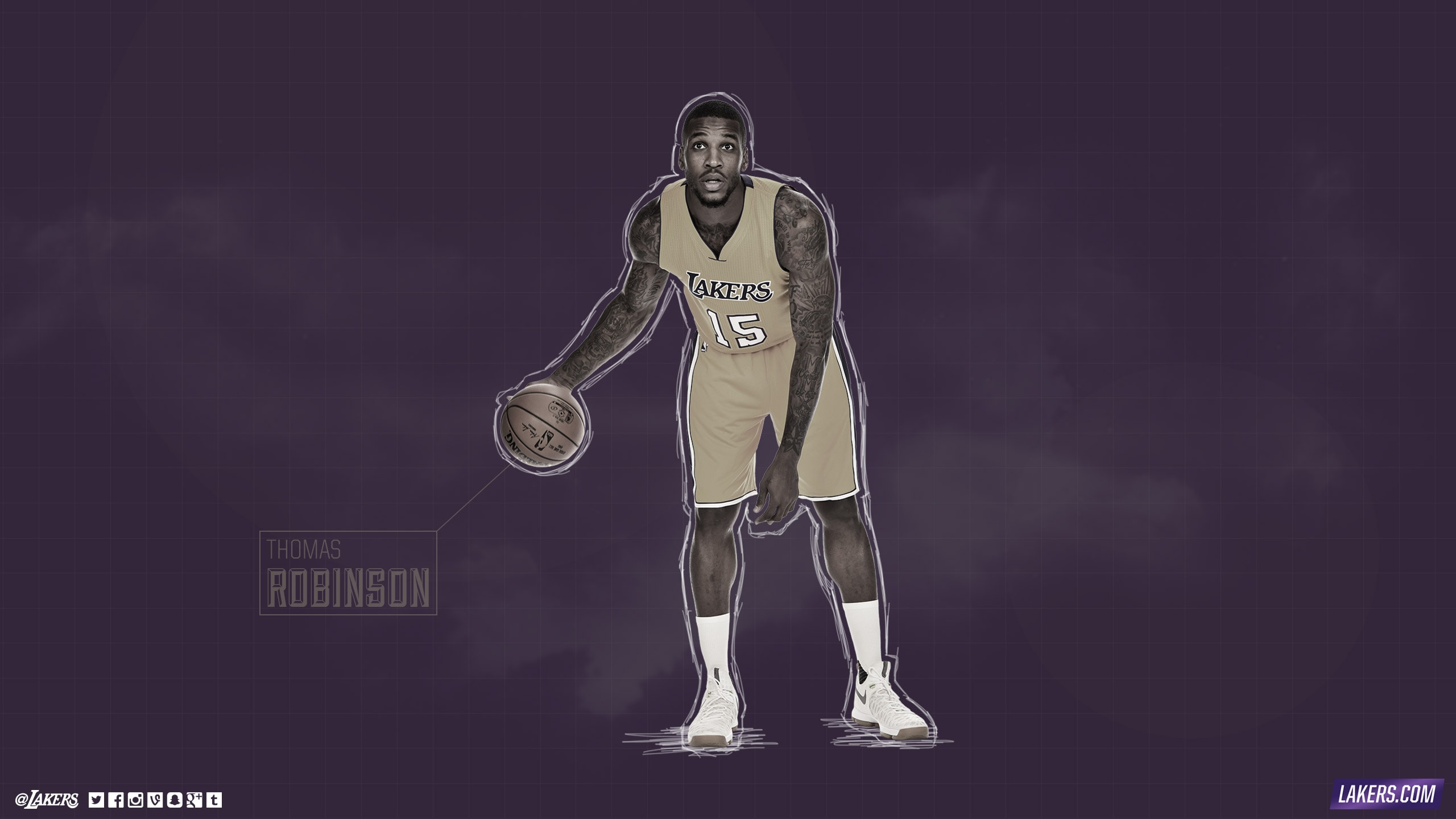 Thomas Robinson Player Wallpaper