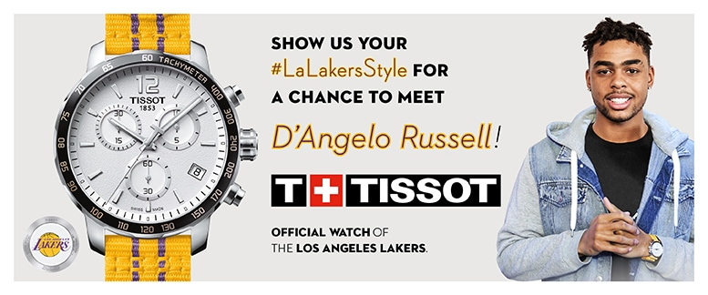 Tissot Lakers Style Contest