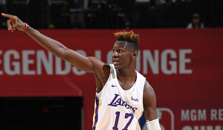 Isaac Bonga, Acquired by the Lakers in the 2018 Draft
