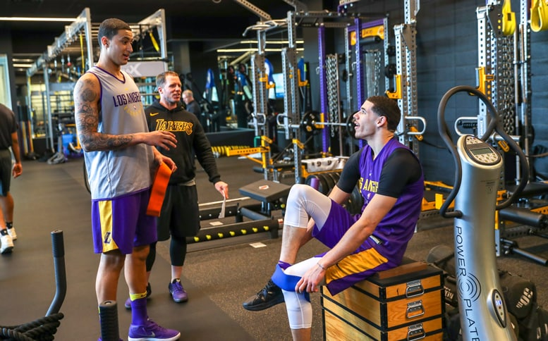 Lakers Weight Room