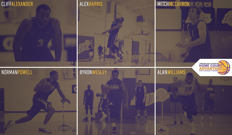 Lakers Draft Workouts Day 4 Am