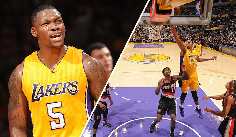 Lakers waive Frazier II and Upshaw