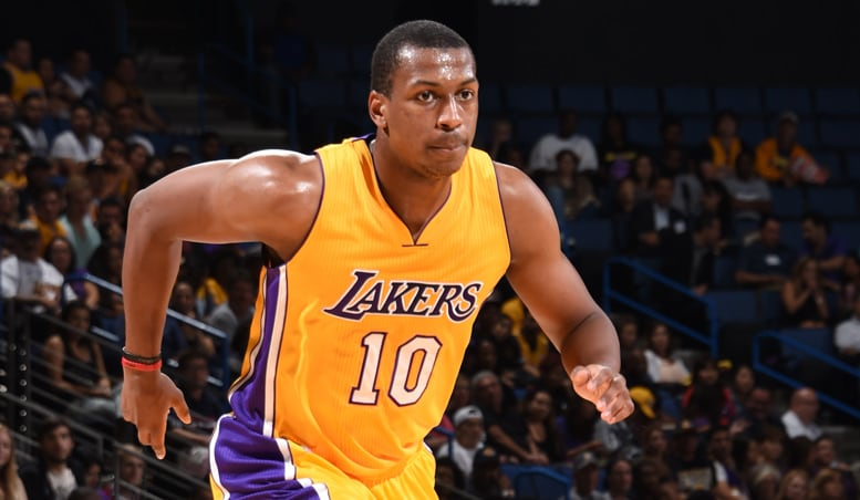 Lakers Waive Jonathan Holmes | Los Angeles Lakers