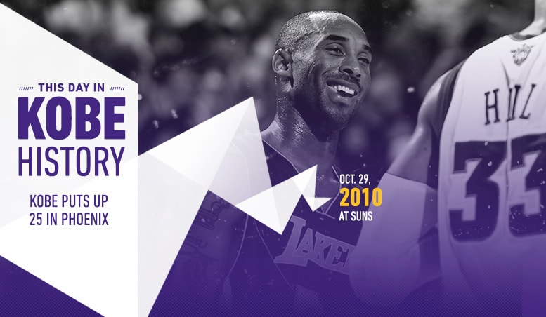 This Day in Kobe History: October 29
