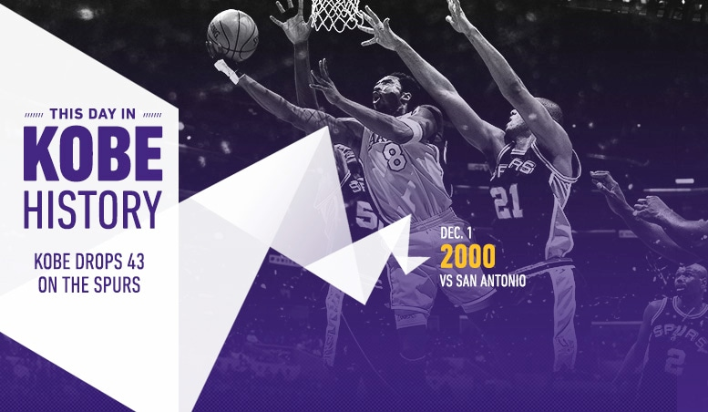 This Day in Kobe History: December 1