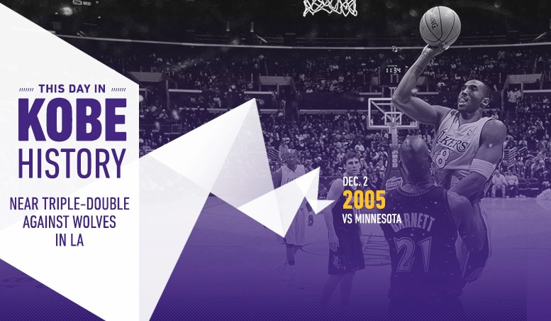 This Day in Kobe History: December 2