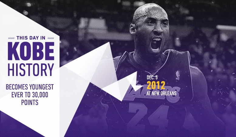 This Day in Kobe History: December 5