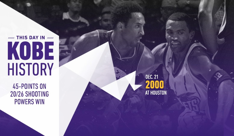 This Day in Kobe History: December 21