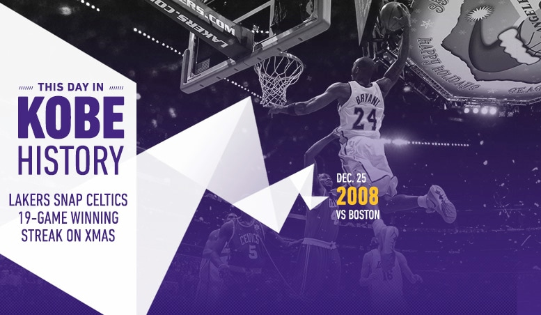 This Day in Kobe History: December 25