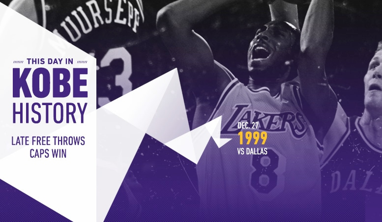 This Day in Kobe History: December 27