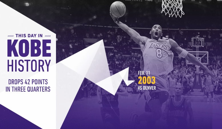 This Day in Kobe History: February 11