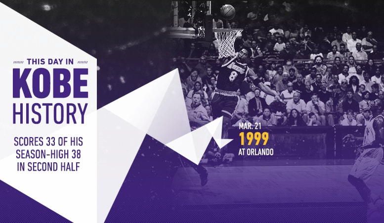 This Day in Kobe History: March 21