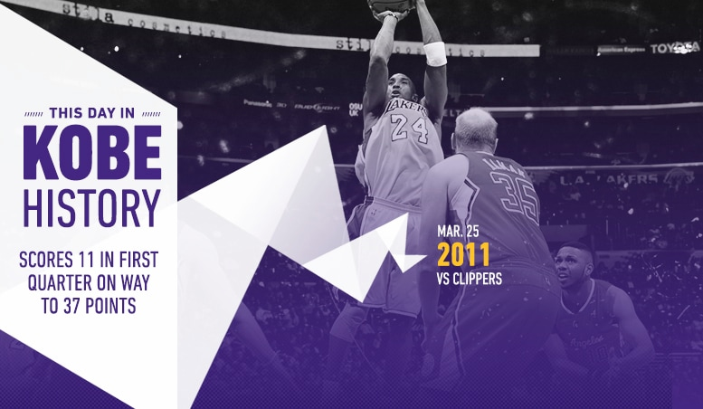 This Day in Kobe History: March 25