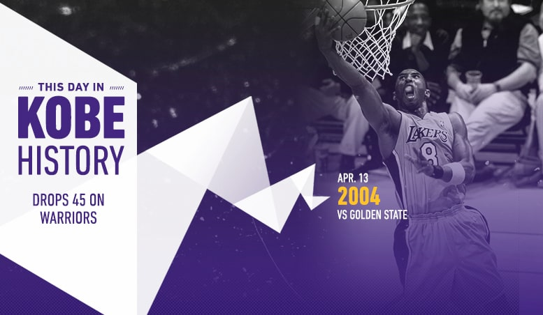 This Day in Kobe History: April 13