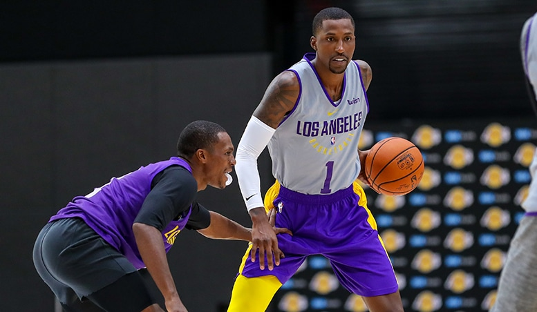 LeBron James Plays First Game With Lakers In Preseason Game Vs Nuggets