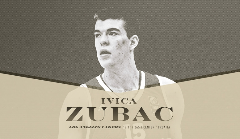 Lakers Draft Ivica Zubac with 32nd Overall Pick