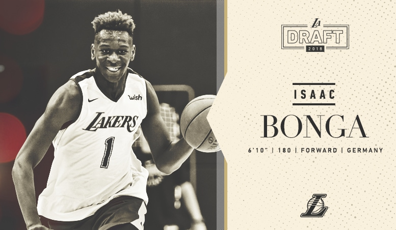 Listen To Text Messages >> Latest Laker: Isaac Bonga | Los Angeles Lakers