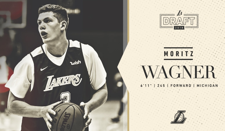 Lakers Draft Moritz Wagner With 25th Overall Pick