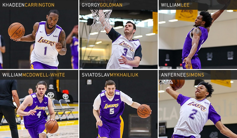 Lakers Draft Workouts - June 5