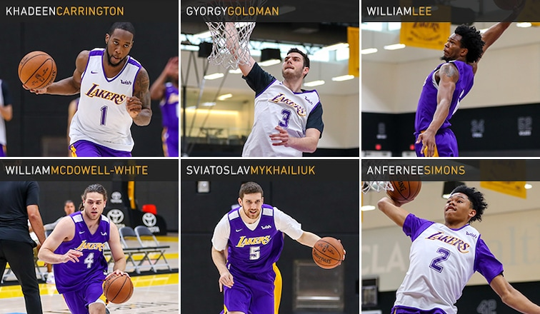 Lakers Draft Workouts June 5 2018 Los Angeles Lakers