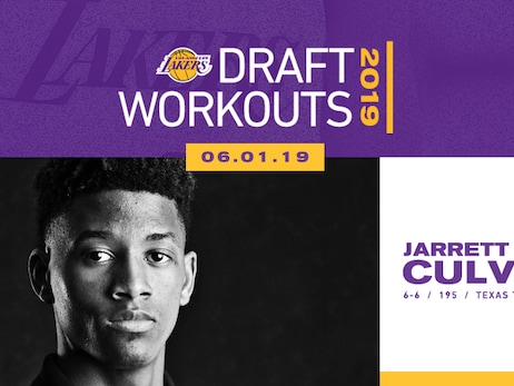 Draft Prospect Jarrett Culver to Work Out for Lakers on Saturday