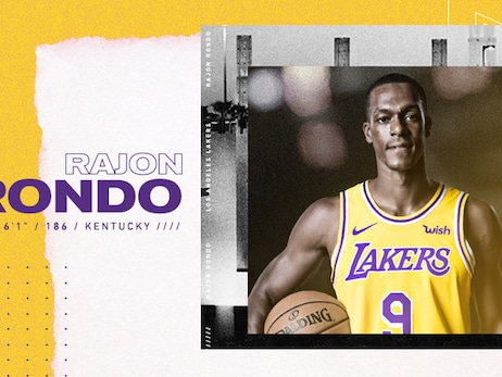Lakers Re-Sign Rajon Rondo