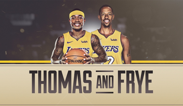 premium selection f3b98 dfbdc Lakers Acquire Isaiah Thomas, Channing Frye in Trade with ...