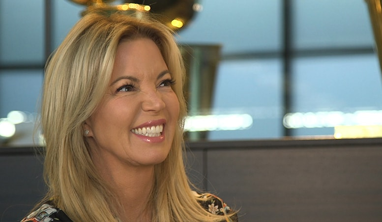 Listen To Text Messages >> Jeanie Buss Excited for New UCLA Health Training Center | Los Angeles Lakers