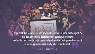 City of Los Angeles Declares August 24th 'Kobe Bryant Day'