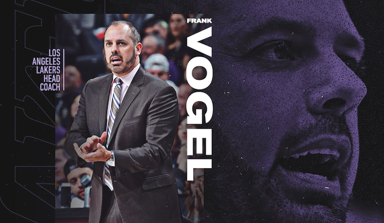 Los Angeles Lakers new Head Coach Frank Vogel