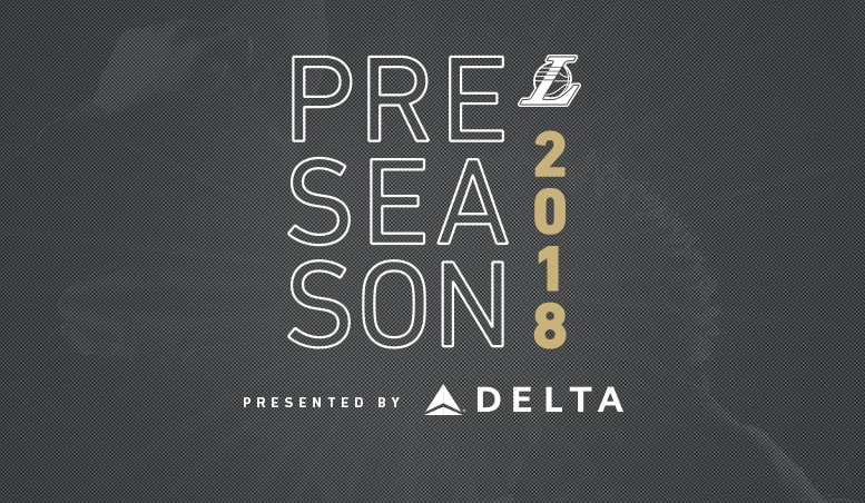 photograph relating to Los Angeles Kings Printable Schedule titled Lakers Announce 2018-19 Preseason Plan Los Angeles Lakers