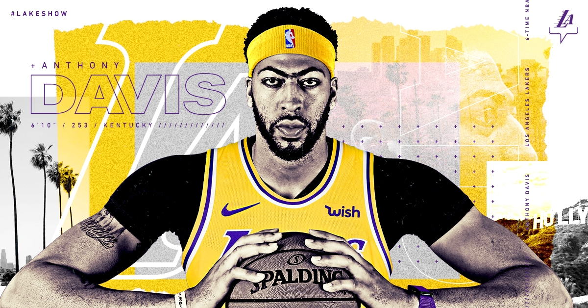 Lakers Acquire Anthony Davis | Los Angeles Lakers