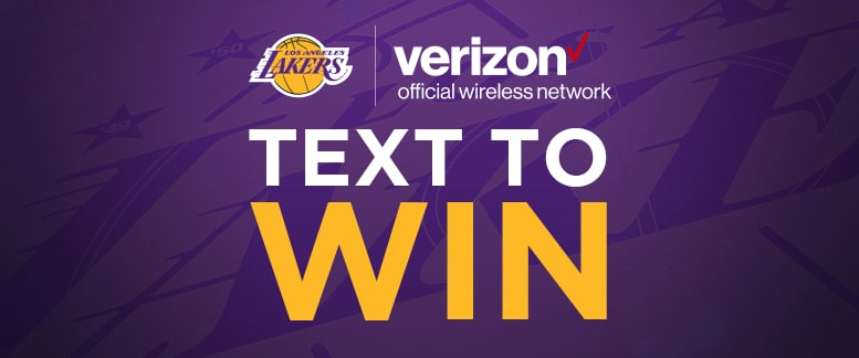 Lakers TXT2WIN Sweepstakes