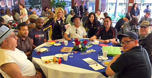Lakers Veteran's Day Breakfast