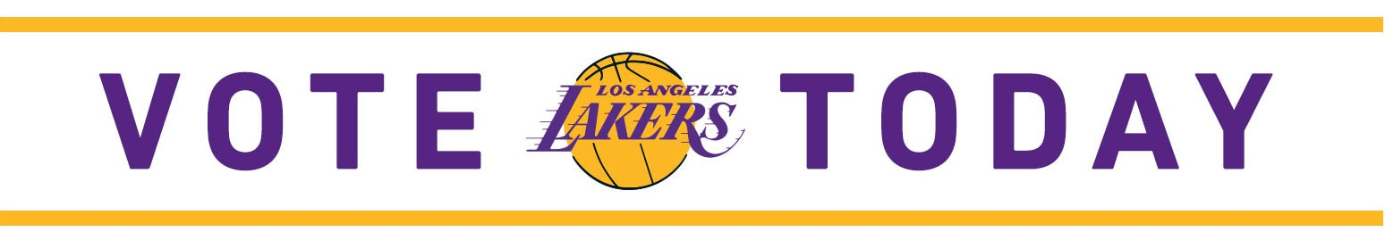 Vote Lakers Today
