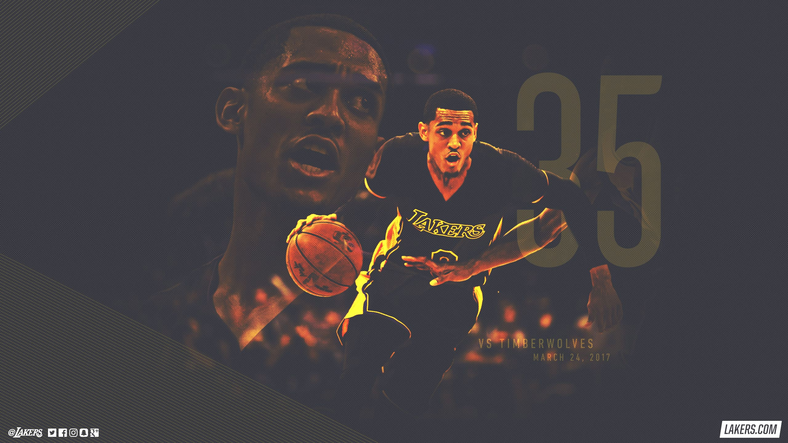 Jordan Clarkson Career-High Wallpaper