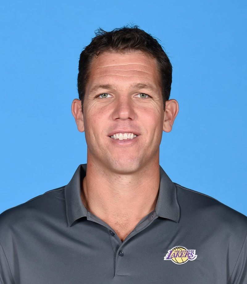 Head Coach Luke Walton