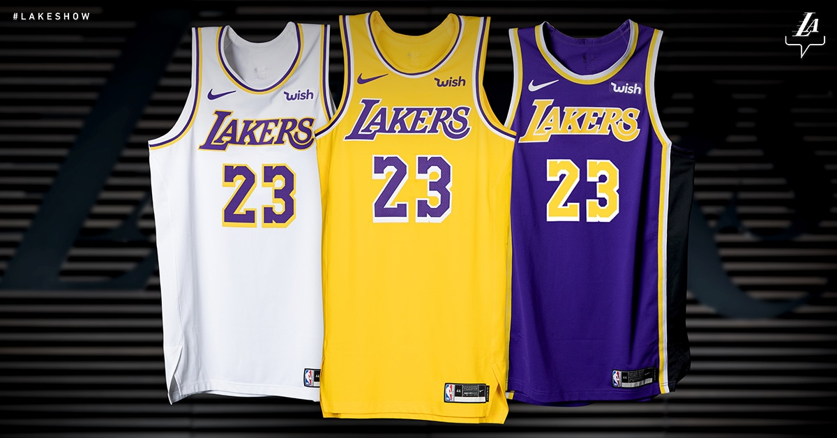 low cost 56a29 48c6b Nike Jerseys | Los Angeles Lakers