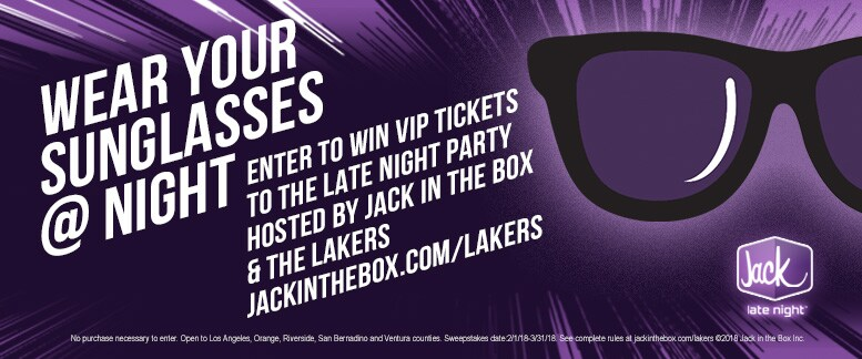 Wear Your Sunglasses @ Night Sweepstakes