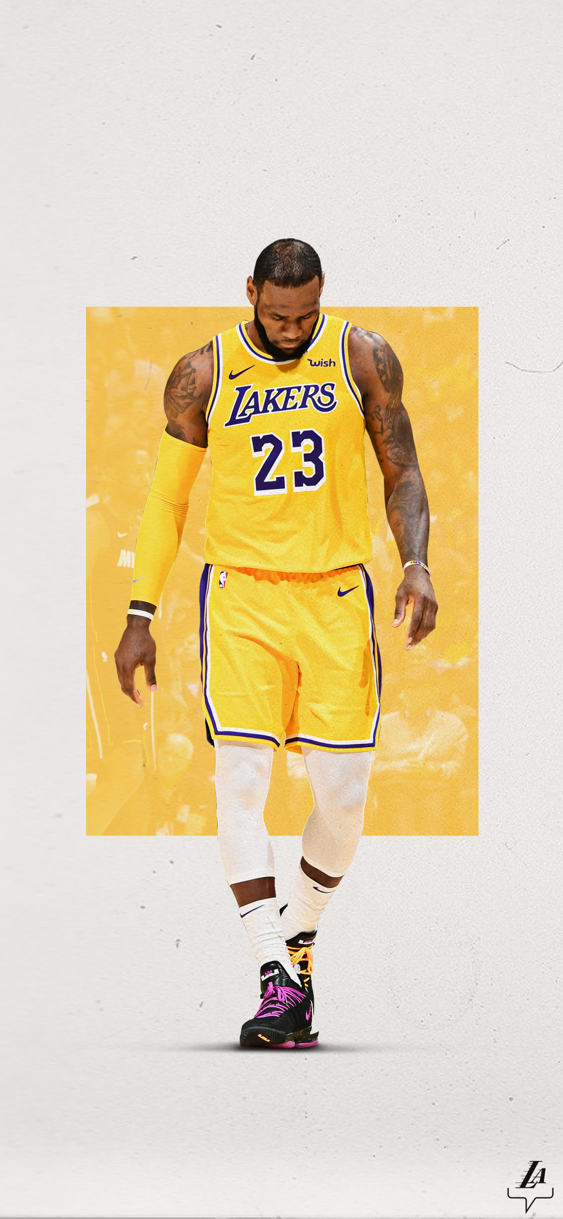 sports shoes b9f13 be704 Lakers Wallpapers and Infographics | Los Angeles Lakers