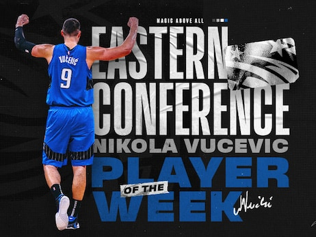 Vucevic Named NBA's Eastern Conference Player of the Week