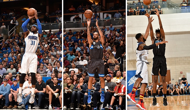 Projecting Magic's Best 3-Point Shooters in 2017-18