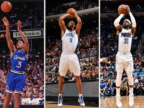 Ranking Top 10 3-Point Shooters in Orlando Magic History