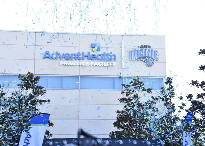 Magic Unveil the AdventHealth Practice Facility at Amway Center   Orlando Magic