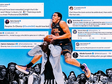 Twitter Reacts to Aaron Gordon's 2020 Slam Dunk Contest