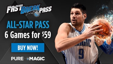 Fast Break Pass - All Star Pass - 6 Games for $59- Buy Now!